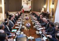 Meeting of high-ranking delegations of Iran and Iraq