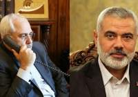 Iran FM, Hamas Chief hold phone talks