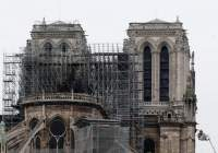 Fire guts Notre-Dame Cathedral in Paris;Macron pledges to rebuild
