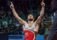 Iran becomes champion in Asian freestyle wrestling